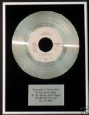 "THE WHO 7"" Platinum DiscYOU BETTER YOU BET( world sales"